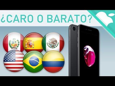 PRECIO POR PAÍSES del iPhone 7 - ¿Donde es más caro?