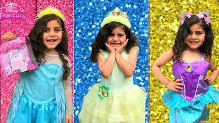 Disney Princesses Dress up and Make up for birthday party
