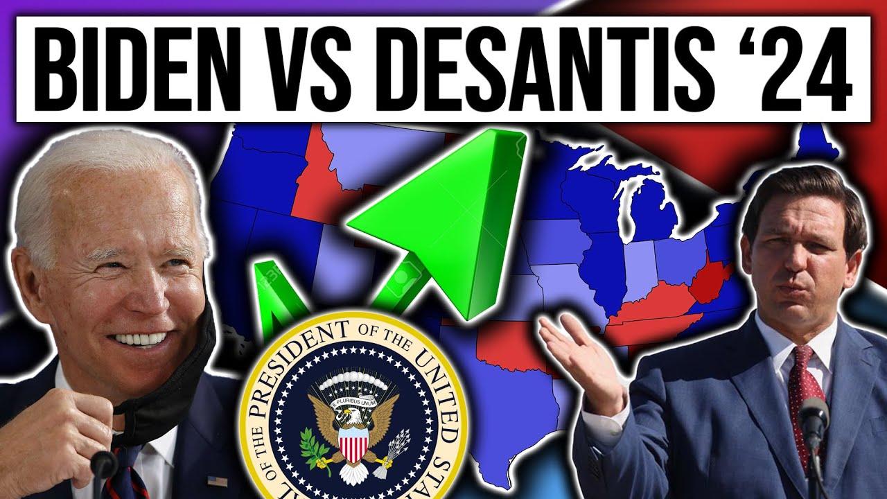 Ron DeSantis vs Joe Biden | 2024 Election Map Projection | 2024 Election Analysis