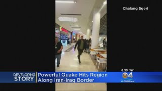 Powerful Quake Hits Region Along Iran-Iraq Border