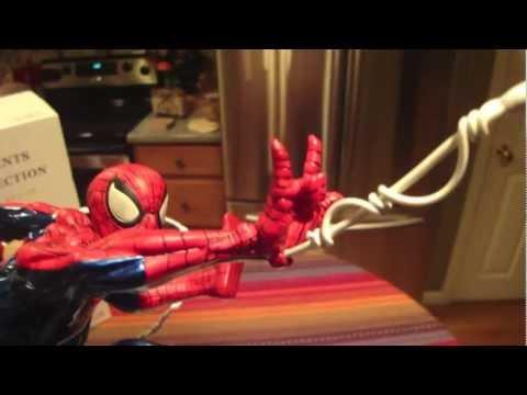Spiderman Fine Art Statue from Kotobukiya Sculpted by Erick Sosa