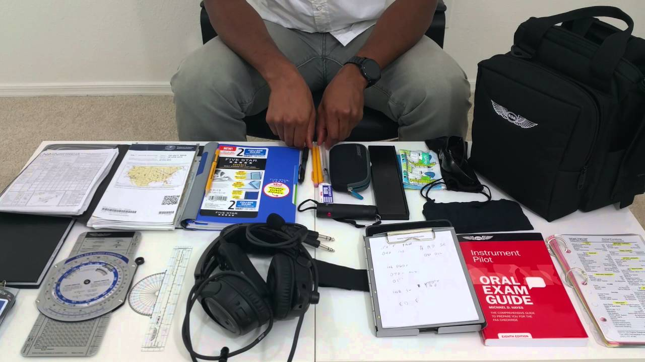 Become A Pilot (Whats In My Pilot Bag) - YouTube