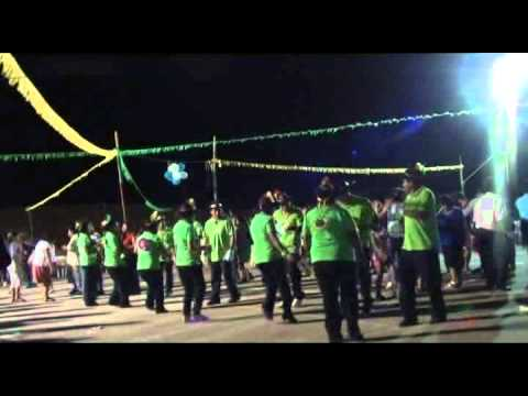 San Javier 2012 18-08 Video2 Virg.Urkupiña-Grupo Musical K´pricho Musicos Bolivia trio Murcia