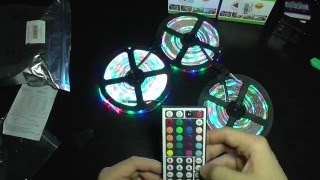 2835 led light strip with 44 keys rgb controller