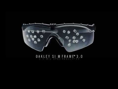 oakley sunglasses standard issue  Oakley Standard Issue Ballistic M Frame 3.0 Impact Video - YouTube