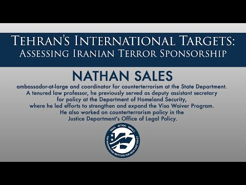 Tehran's International Targets: Assessing Iranian Terror Sponsorship