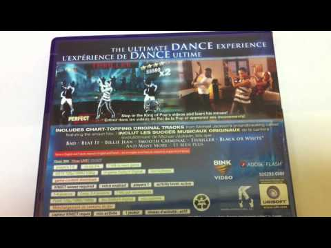 Michael Jackson - The Experience - XBOX 360 - PS3 - WII UNBOXING