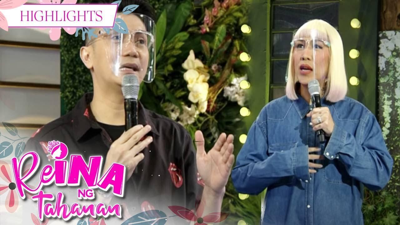 Download Vice Ganda asks Vhong for his opinion | It's Showtime Reina Ng Tahanan