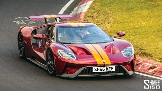 My Ford GT on the Nurburgring for the FIRST TIME!