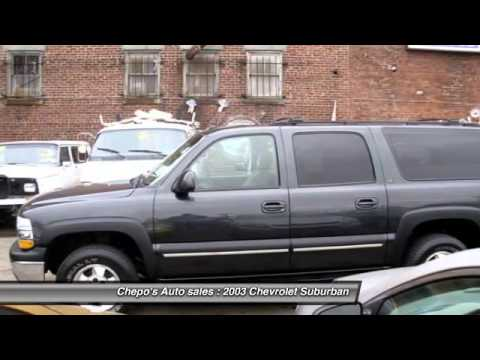 2003 Chevrolet Suburban 1500 Newark NJ 07104