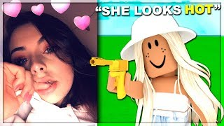 I Pretended To Be A GIRL In Arsenal (Roblox)