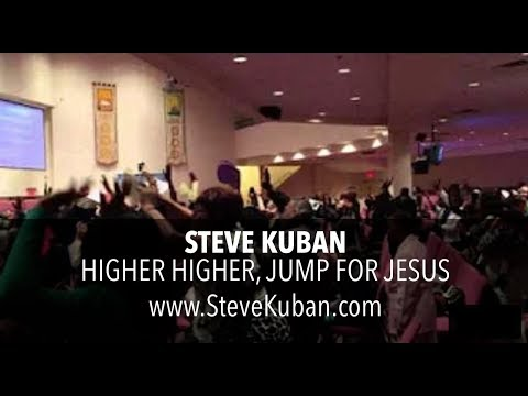Steve Kuban - Higher Higher & Jump for Jesus, sang at Calvary Cathedral of Praise, Brooklyn New York