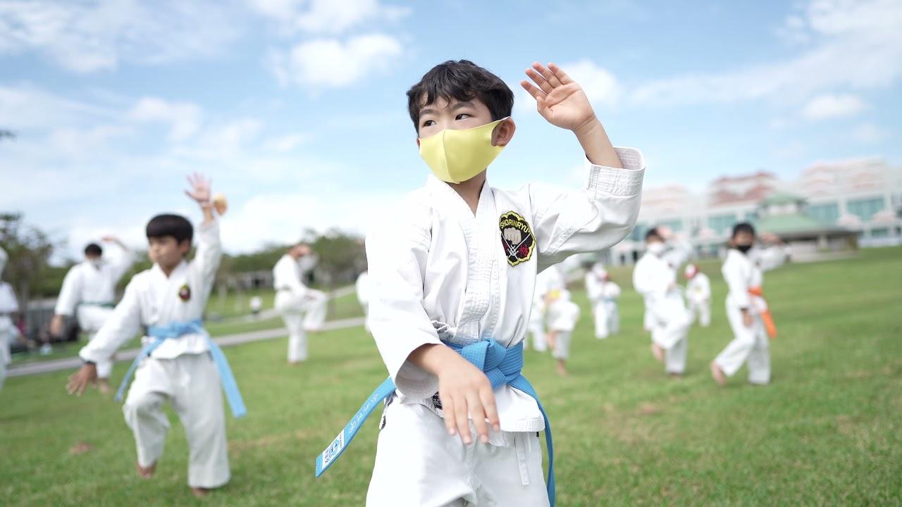 100 Kata for Karate Day Challenge 2021 - Peace Memorial Park, Okinawa