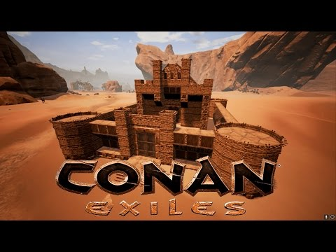 Conan Exiles - How to Build a Castle