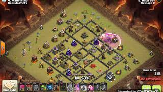 Th9 vs Th9: LaLoon 5 Skeletons Spells!!!! (Mica Set - New Age 21 - Clash Of Clans)
