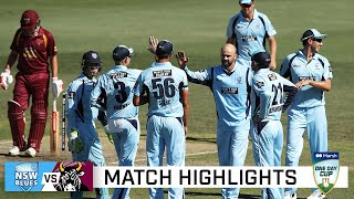 Star-studded Blues too strong for Queensland | Marsh One-Day Cup 2020-21