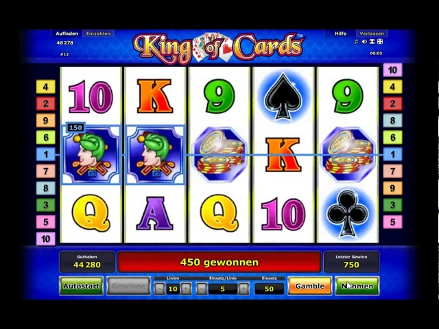 Custom slot machine software. King of Cards from Inbet Games