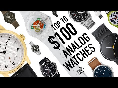 Top 10 Best Value Analog Watches Around $100 With Real Brand History