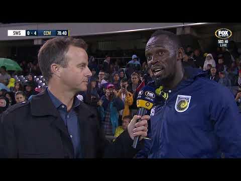 OFFICIAL: Usain Bolt Reflects On First Ever Football Goals   12.10.18