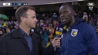 OFFICIAL: Usain Bolt Reflects On First Ever Football Goals | 12.10.18