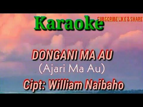 Karaoke Batak - Dongani Ma Au Trio Elexis