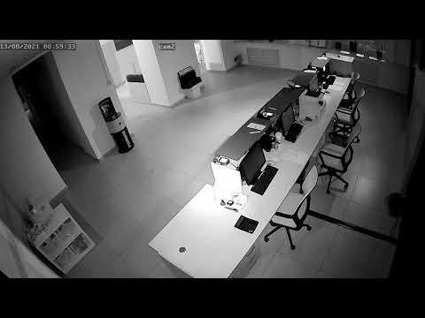 Офис, клиентская зона (ночь)