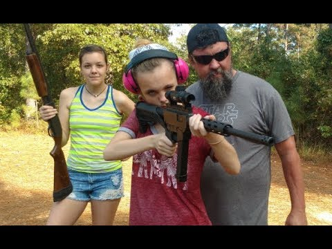 Carly Shooting Bump Fire Stock For The First Time