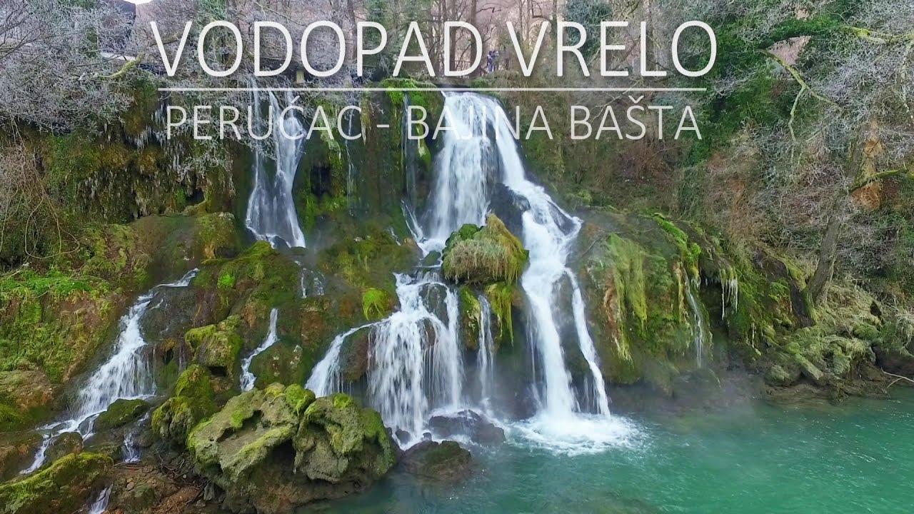 Vodopad Vrelo u Perućcu. - YouTube