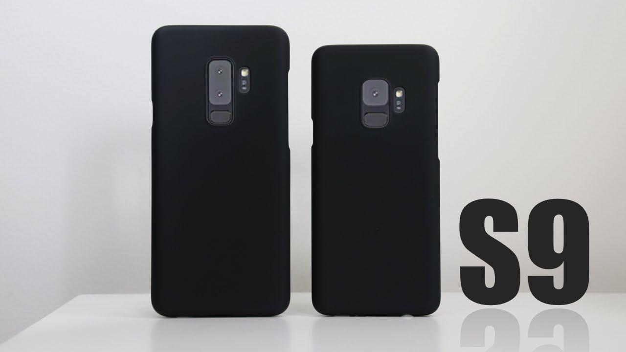 innovative design 9d280 9e3a7 Best Samsung Galaxy S9 Case - Minimal Slimoro Slim Hard Case with Soft  Coating