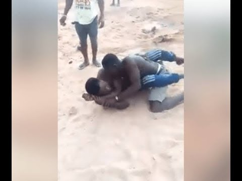 , Drama: Two Yahoo boys engage in a serious fight over stolen of client (video), NAIJAPARRY