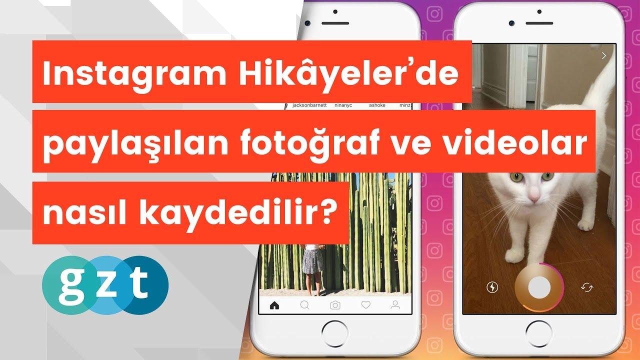 Instagram hikâyeleri nasıl kaydedilir?
