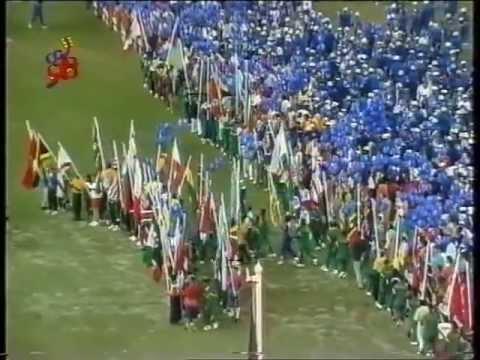 Parade of Athletes & Flag Ceremony - Closing Ceremony of Kuala Lumpur 98 XVI Commonwealth Games
