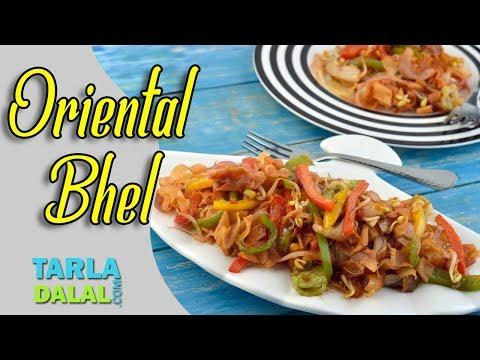 Oriental Bhel recipe bt Tarla Dalal
