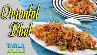 Oriental Bhel recipe by Tarla Dalal