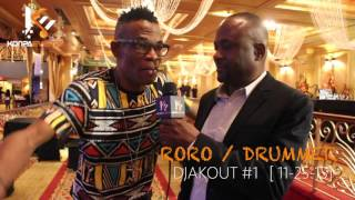 Djakout #1 Drummer RORO talks to us about Polo & Steeve Khe