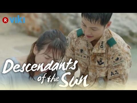 Descendants of the Sun - EP5 | Song Joong Ki Saves Song Hye Kyo From A Car [Eng Sub]