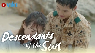 Descendants of the Sun EP5 Song Joong Ki Saves Song Hye Kyo From A Car Eng Sub