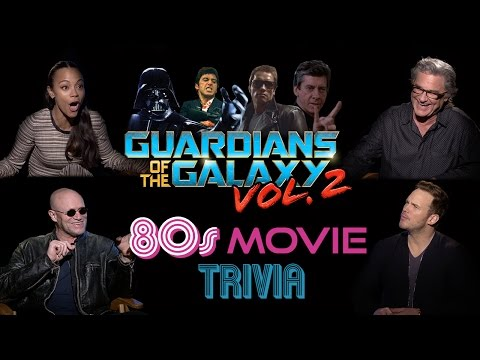 Guardians of the Galaxy Cast Does 80's Movie Trivia