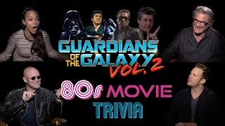 Guardians of the Galaxy Cast Does 80