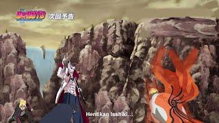 Boruto Episode 216 - Sasuke di tumbangkan isshiki Naruto marah dan menuju perubahan mode terakhir