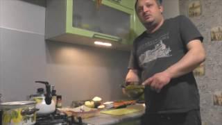 """Салат """"Оливье"""" (Вкусный Бабушкин рецепт) с сердцем."""