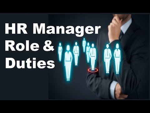 Hr Manager Job Responsibility & Duties In Hindi || Self Motivation