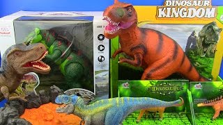 Jurassic World & Dinosaurs Fighting Movies - dinosaurs for kids !!!