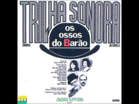 Ossos do Barão Nacional  LP Trilha Sonora da NovelaSoap Opera
