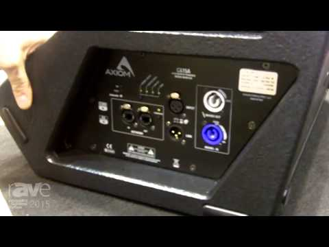 ISE 2015: Proel Highlights the Axiom CX15A Stage Monitor