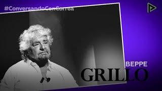 'Conversando con Correa': Beppe Grillo