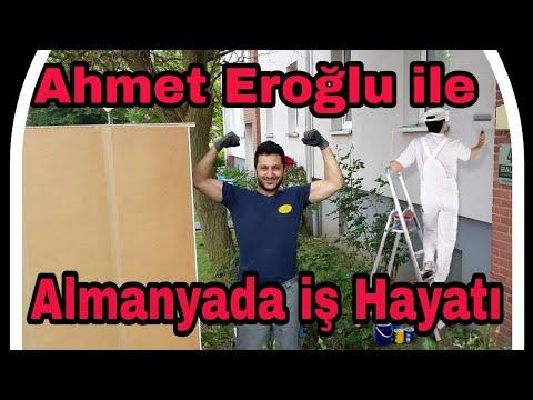 Almanyada iş Hayatı.. Ahmet Eroğlu.. Almanyada hayat ve nasıl para kazanılır?