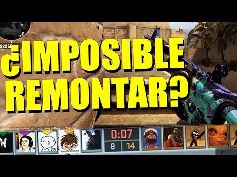 ¡¿IMPOSIBLE DE REMONTAR?! | COMPETITIVO COMPLETO | Counter Strike - Global Offensive.