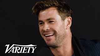 Chris Hemsworth Talks Hanging Up Thor's Hammer - Avengers Endgame