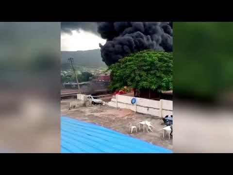 Gas tanker explosion kills at least 28 in Nigeria